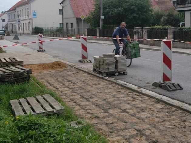 Bělohradská Harantova ulice.