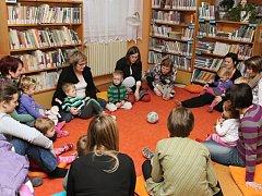Logohrátky v bělohradské knihovně.