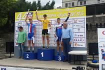 Celkové pořadí na mezinárodním etapovém závodu, který se uskutečnil v Srbsku.