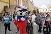Stovky dětí si ve čtvrtek užívaly pohádkový festival.