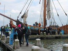 Kopidlenští studenti v Holandsku.