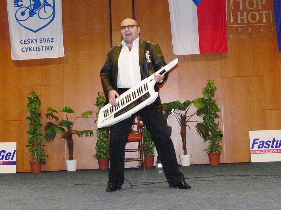 Jan Bartoš - imitátor Michala Davida.