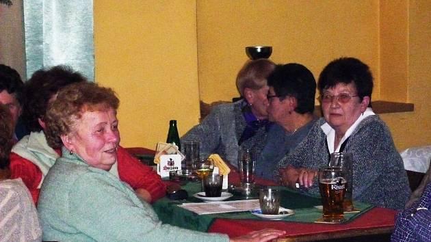 Setkání seniorů.