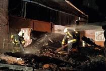 Požár stodoly nepřežil jeden kůň
