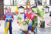 Klauni z cirkusu Jo-Joo.