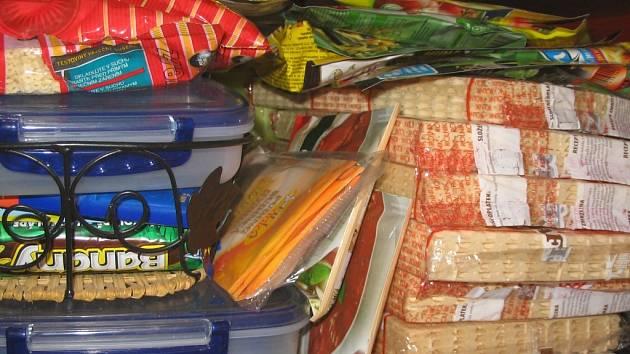 I zásoba potravin se může stát cílem zlodějů.