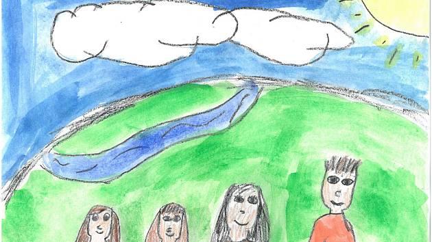 Jak si představujete rodinu? Výkresy žáků ze ZŠ Železnická připomínají Týden pěstounství.