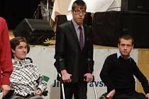 Z ocenění nejlepších handicapovaných sportovců.