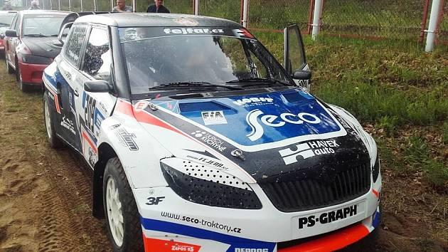 Auto Václava Fejfara.