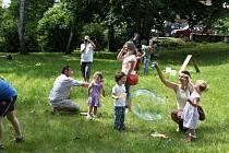 Den pro rodinu pořádaný občanským sdružením Duha.