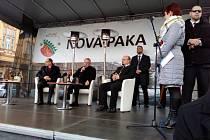 Prezident Zeman v Nové Pace