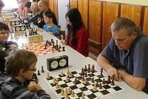Silvestrovský šachový turnaj v Lužanech.