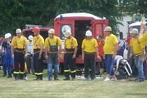 Z akci milovických hasičů