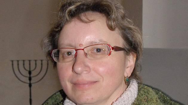 Oldřiška Tomíčková, vedoucí muzea v Hořicích.