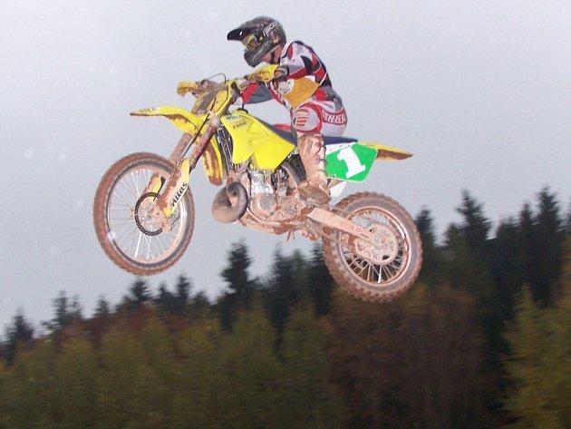 Mezi nejlepší jezdce patřil Petr Bartoš.