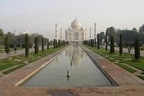 Putování po Indii.