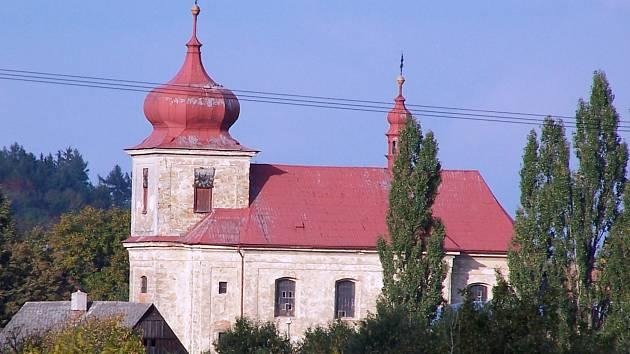 Markvartice - kostel sv. Jiljí