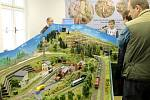Výstava železničních modelů v Jičíně.