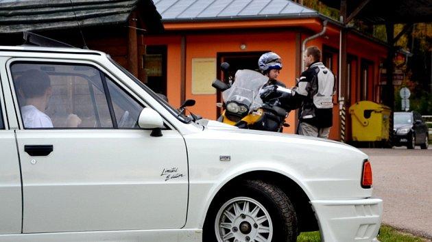 Jičínské eRekce - orientační automobilová soutěž.