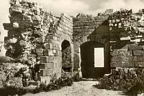 Rozvaliny hradu Kumburk.