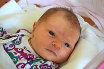 Eliška Švandrlíková je z Jičína. Narodila se 16. srpna 2020, vážila 3650 gramů a měřila 51 centimetrů. Těšili se na ni rodiče Nikola a Libor Švandrlíkovi.