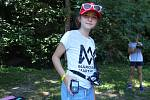 Týden volna si v Mladějově užívaly děti s diabetem z pěti krajů republiky. Hlídal je většinou senzor a diabetolog Jan Vosáhlo.
