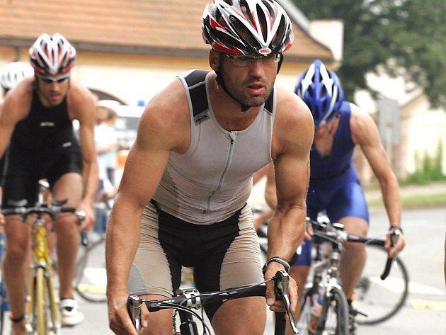 Rudolf Cogan najezdil na kole za minulý měsíc 2280 kilometrů.