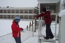 Také v Jičíně býval na Vánoce sníh, museli jsme ale sáhnout do archivu z roku 2005.