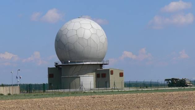 Radar pro vojenské účely.