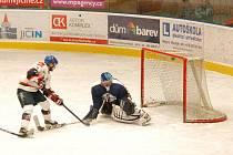 Krajský hokej Liberecka: HC Jičín - HC Frýdlant.