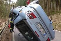 Dopravní nehoda ve Štikově