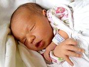 MICHAELA TULAKOVÁ se narodila rodičům Janě a Jakubovi Tulakovým 9. července. Po porodu vážila 2,94 kg a měřila 49 cm. Rodina žije ve Velichovkách, kde se na malou sestřičku těší Danielka.