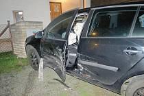 Nehoda v bělohradské ulici K. Moora.