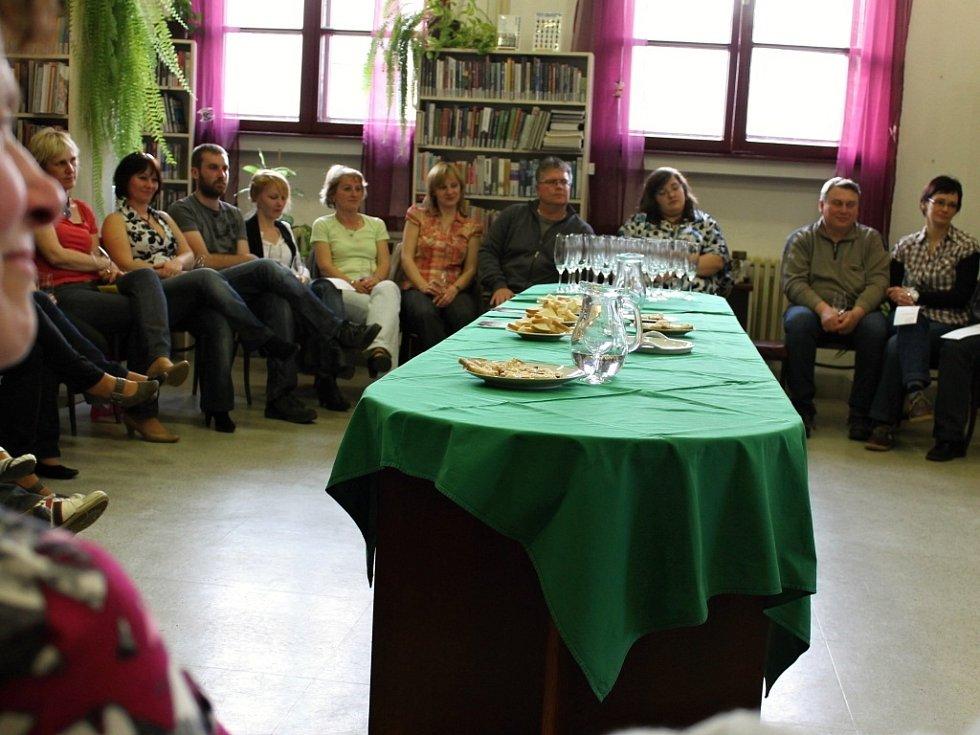 Ochutnávka vín sommeliéra Ondry Kuříka.