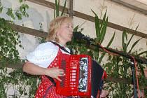 Z koncertu manželů Pospíšilových v Žereticích.