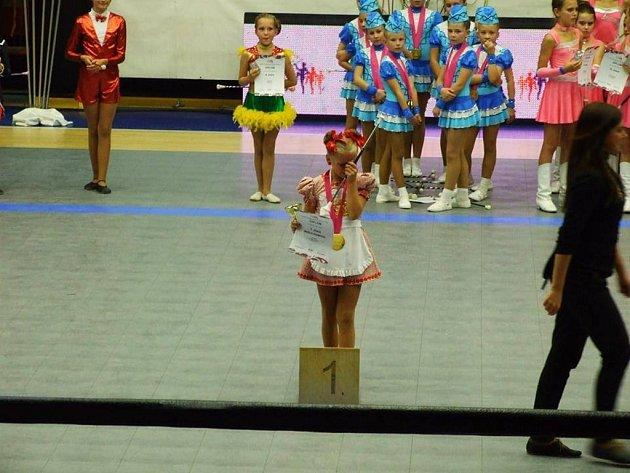 Hořické mažoretky  byly úspěšné na mistrovství světa.