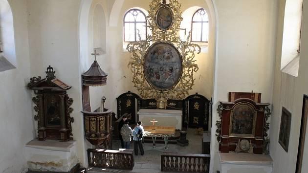 Den otevřených dveří v kostele v Sedličkách.