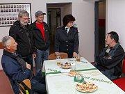 Ze zrekonstruované bělohradské kníhovny a hasičské zbrojnice.
