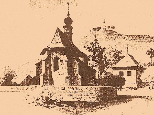 Kostel sv. Bartoloměje na Bradech.