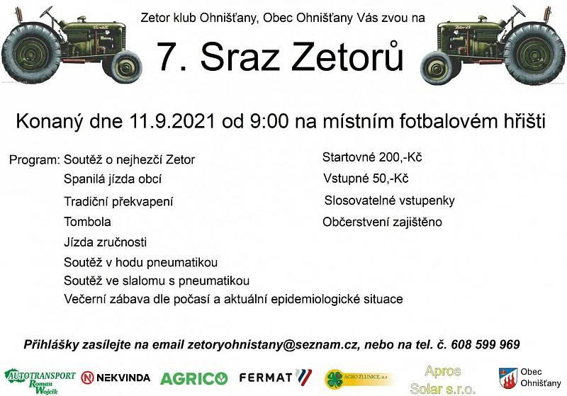 Na 7. sraz Zetorů v Ohnišťanech se sjedou unikátní modely traktorů