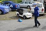 Sobotní dopoledne patřilo na srazu závodu v orientační jízdě a dalším soutěžím.