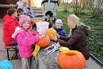 Halloween ve Vitiněvsi.