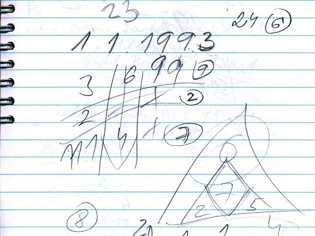 Ilustrační foto - numerologické výpočty.