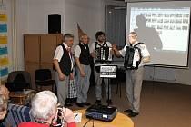 Řehečské kvarteto v jičínské knihovně.