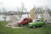Ze srazu majitelů Fiatu 126p.