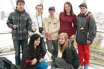 Peckovští školáci na výletě v Anglii.