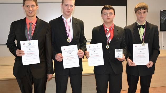Z krajského kola soutěže Enersol 2013.
