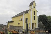 Miletínská hřbitovní kaple.