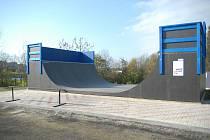 Miletínská U-rampa po vybudování.