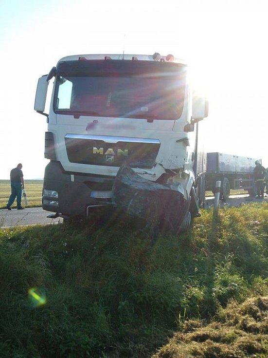 Tragická nehoda u Úlibic.